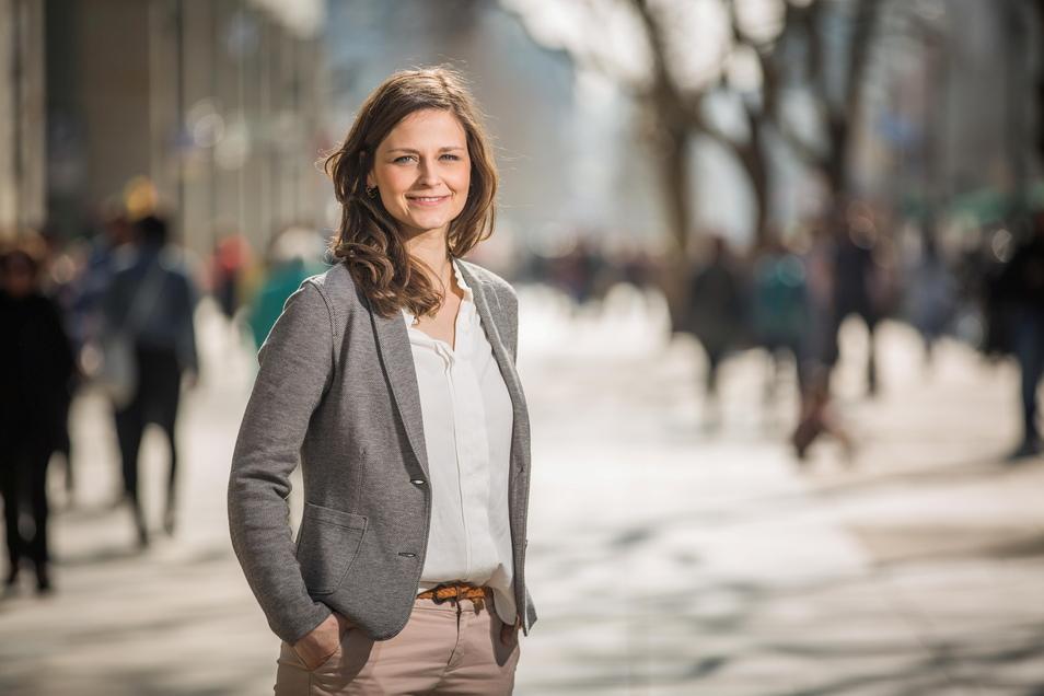 Friederike Wachtel ist Dresdens Citymanagerin.