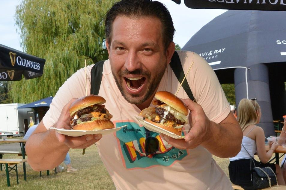 Auch Burgerfans kommen auf ihre Kosten!