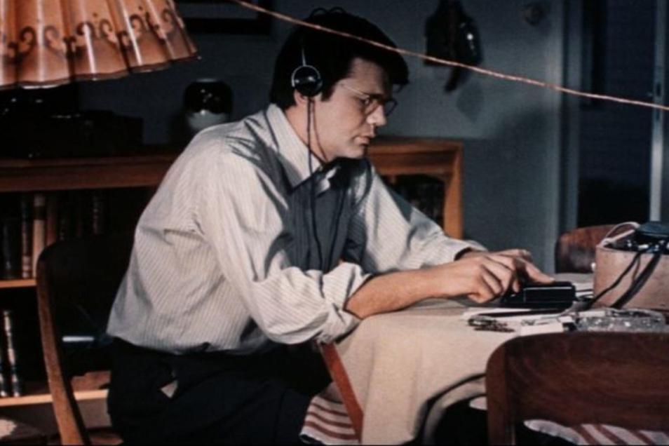 "Im Defa-Film ""KLK RUFT PTX"" spielt Horst Drinda 1971 den Agenten Arvid Harnack."