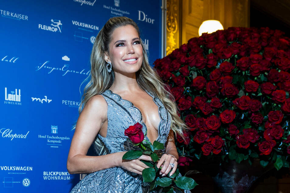 Sylvie meis semperopernball