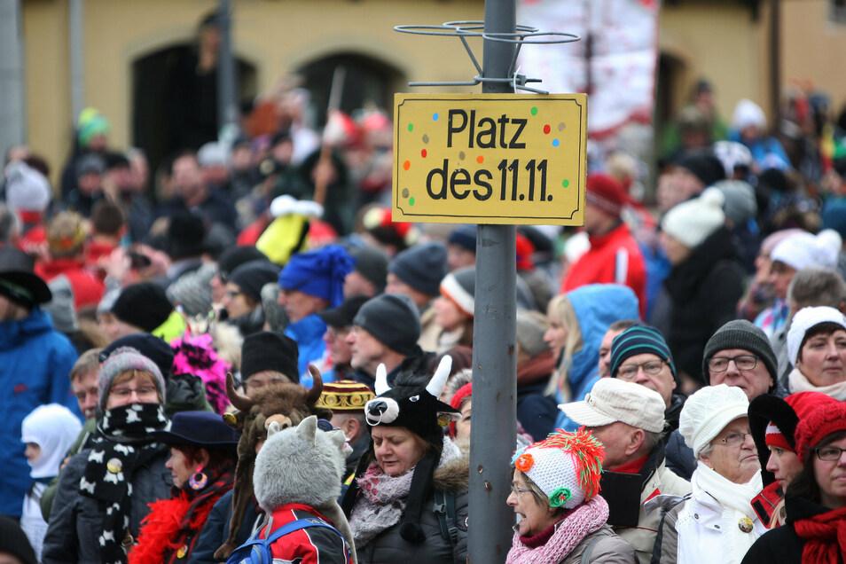 Ob Straßenfasching  - hier der Karnevalsumzug in Geising - 2021 stattfinden darf, ist derzeit unklar.