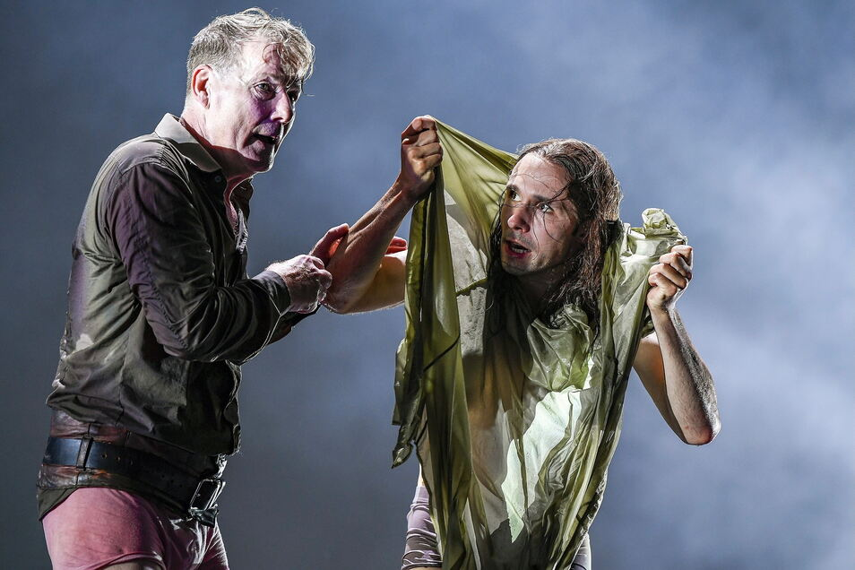 Torsten Ranft spielt König Lear