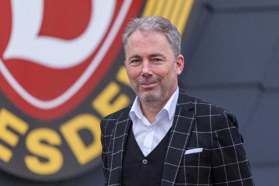 Jürgen Wehlend ist seit Januar der kaufmännische Geschäftsführer bei Dynamo. Jetzt hat er sein erstes Zahlenwerk vorgelegt.