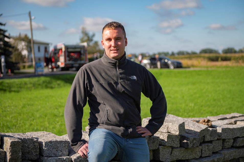 Sandro Bockel aus Zabeltitz wechselt von der Stadtverwaltung Großenhain in die Gemeindeverwaltung Ebersbach.