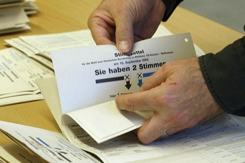 Die Stadt Bautzen benötigt Helfer für die Bundestagswahl im September.