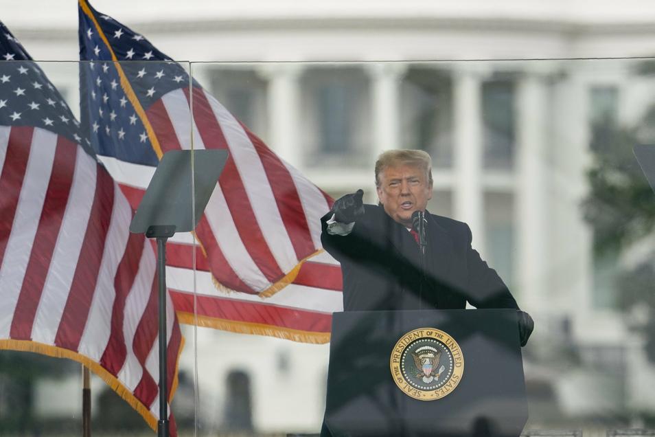 Donald Trump scheidet mit der Vereidigung seines demokratischen Nachfolgers Joe Biden am 20. Januar aus dem Amt.