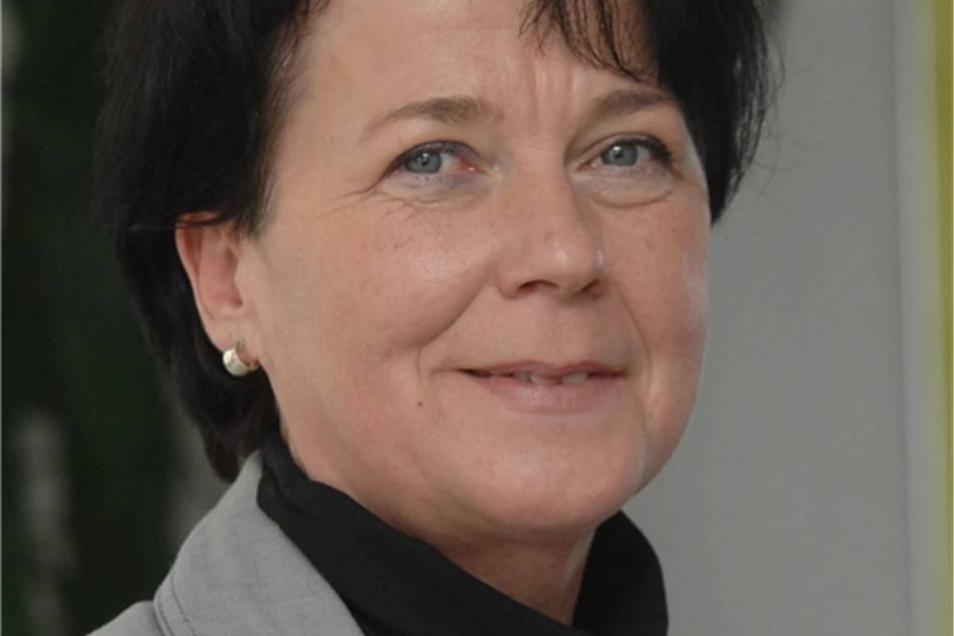 Adelheid Engel ist Bürgermeisterin der Gemeinde Oderwitz.