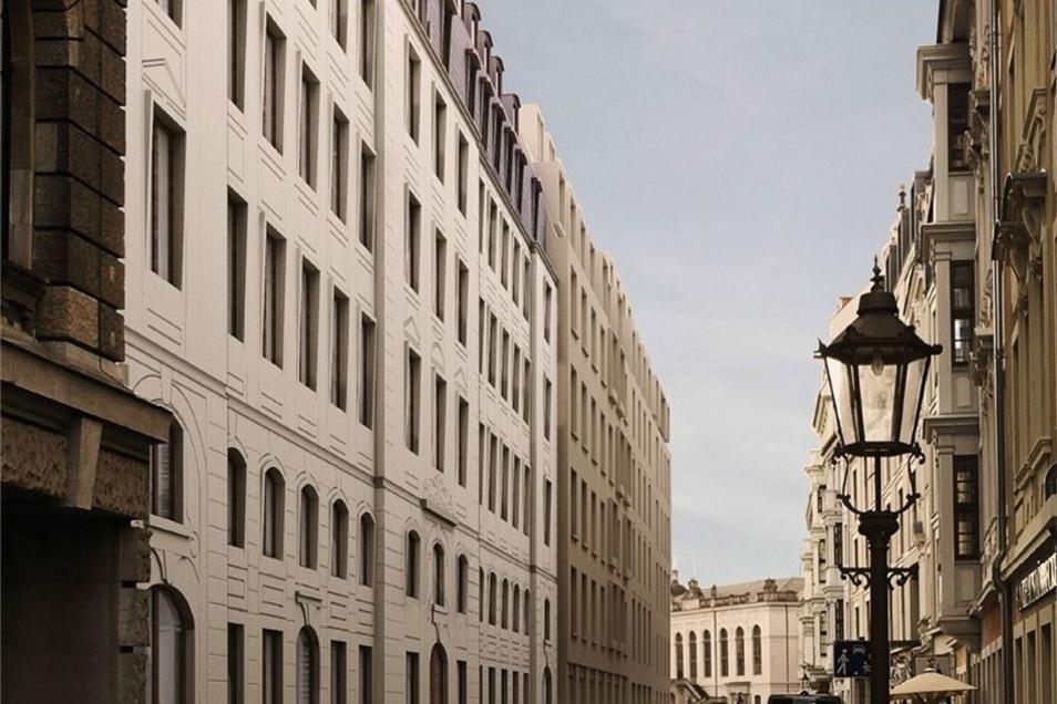 Platz 3: Weinmiller-Architekten wollten das Palais Riesch mit möglichst viel historischer Wirkung wiedererrichten. Die Jury war angetan. Sie sprach von einer knappen Entscheidung – es reichte nicht ganz.