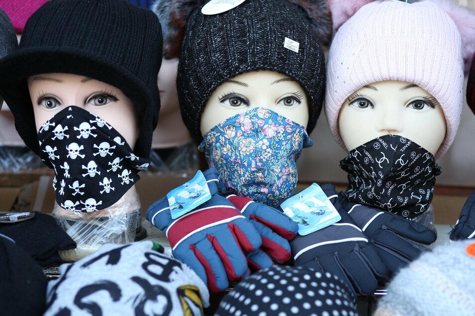 In Waldheim müssen Alltagsmasken derzeit nur auf dem Wochenmarkt in der Öffentlichkeit getragen werden.