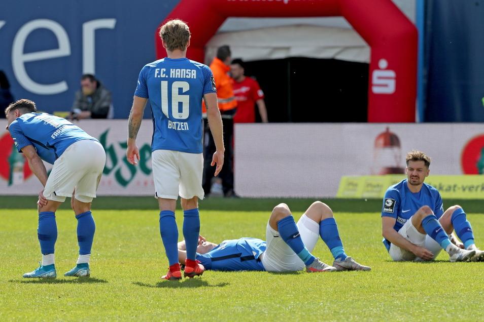 Beim Spiel von Hansa Rostock am Samstag sind erstmals wieder Fan