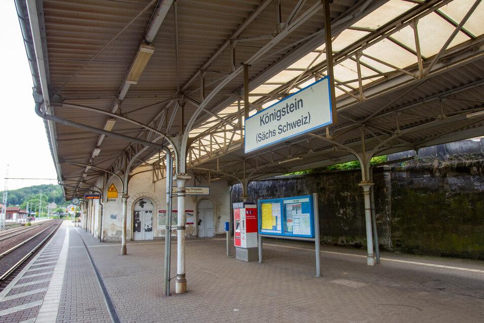 Investitionen plant die Bahn auch für den Bahnhof Königstein.