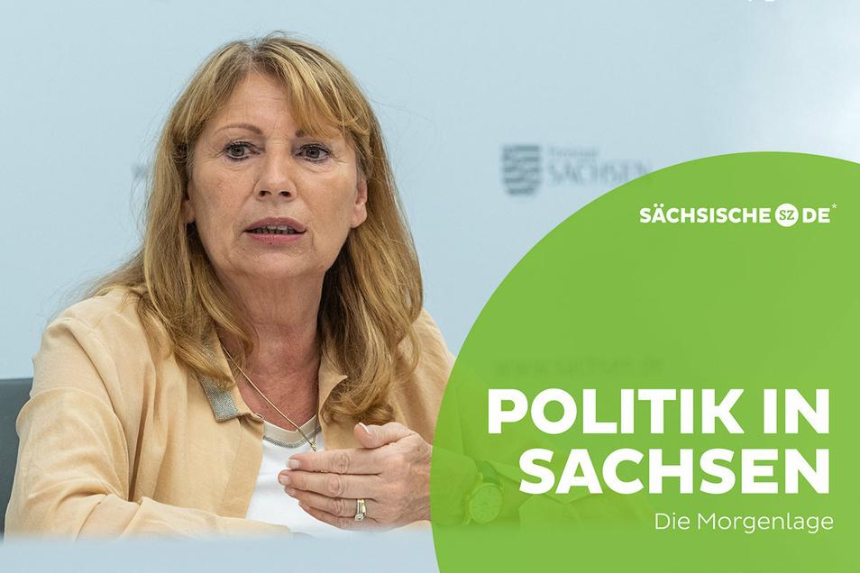 Sachsens Gesundheitsministerin Petra Köpping hat am Montag für die Einhaltung der Hygieneregeln appelliert.