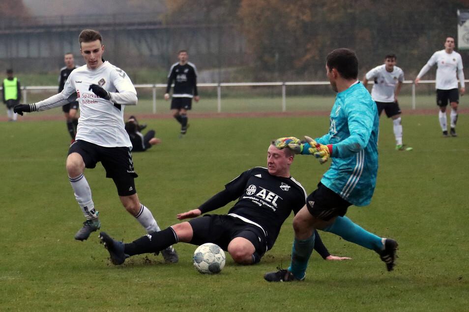 Einen schweren Stand hatte Kreisoberligist VfB Leisnig in der Herbstserie nicht nur im mit 1:3 verlorenen Derby gegen den Döbelner SC. Am Sonnabend beginnt für den VfB die Rückrunde mit einem Nachholespiel bei Chemie Böhlen.