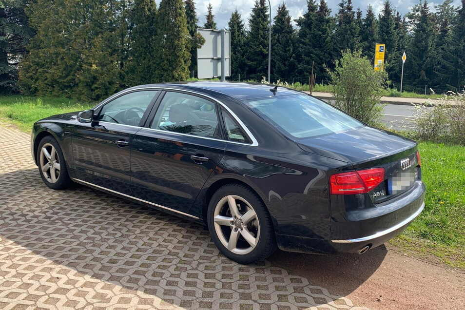 ... der Audi.