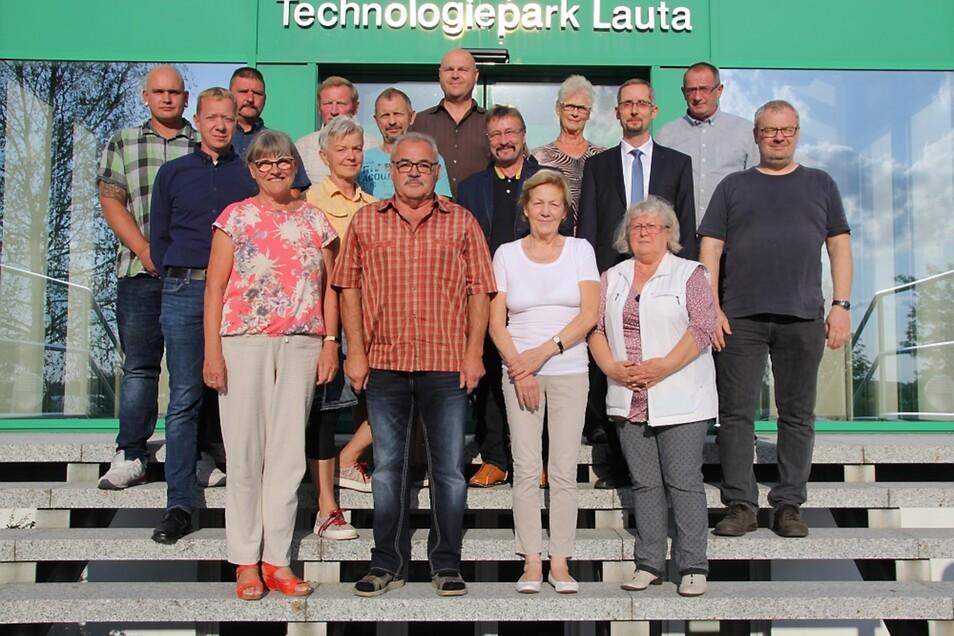 Das ist der neue Stadtrat von Lauta.