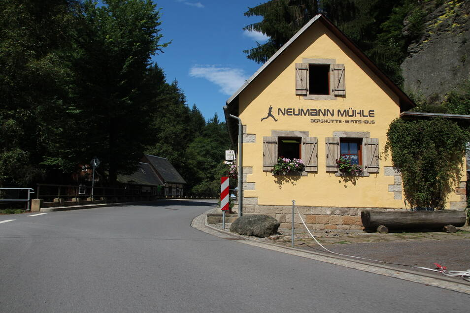 Bis zur Neumannmühle reicht sie jedoch nicht.