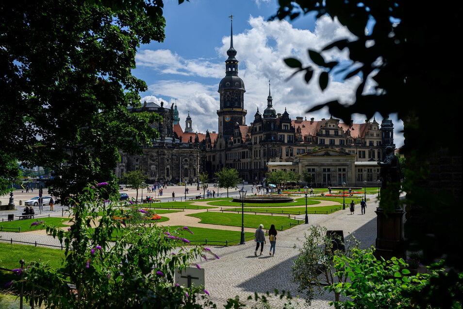 In Dresden fiel der Inzidenz- Wert mit 9,9 wieder knapp unter die Marke von 10.