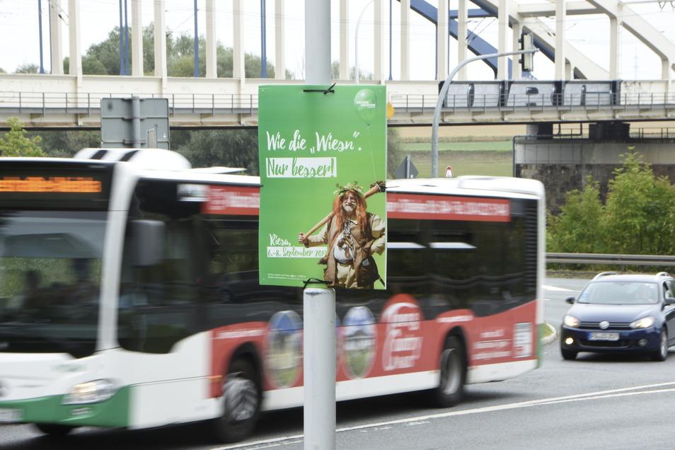 Möglichst viele der 300.000 Besucher sollen mit öffentlichen Verkehrsmitteln in die 30.000-Einwohner-Stadt kommen.