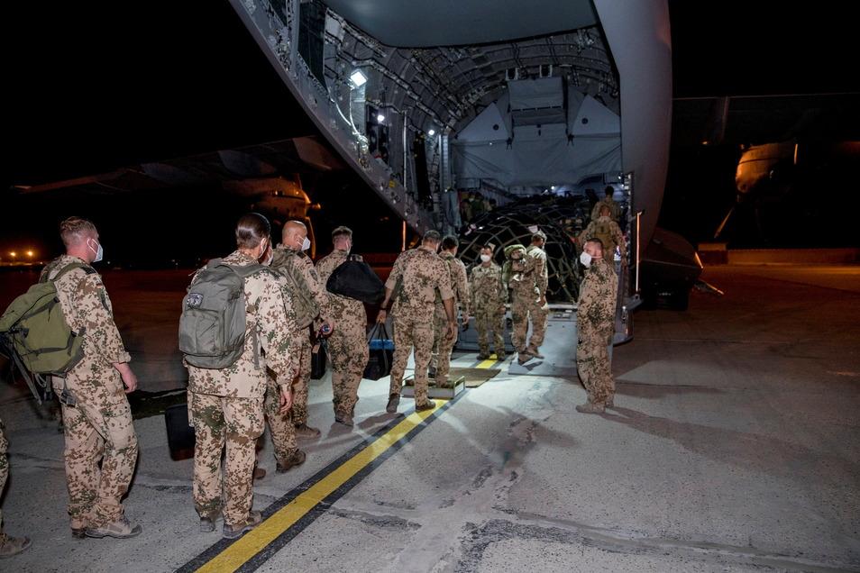 Die Bundeswehr hat Afghanistan Ende Juni verlassen. Bis zum 20. Jahrestag des Terroranschlags auf das World Trade Center soll alle NATO-Truppen das Land verlassen haben.