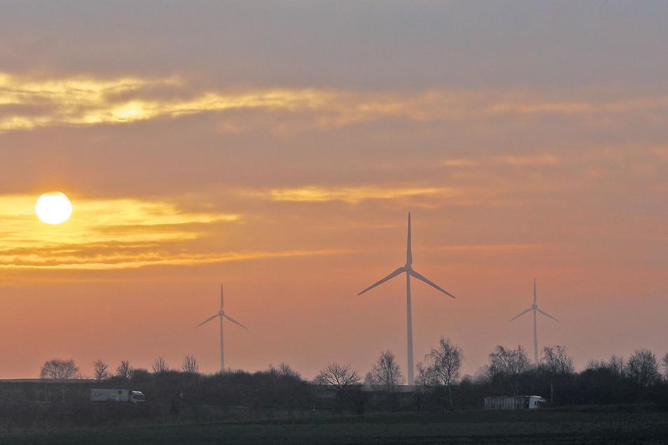 Die Windräder bei Wachau sorgen seit Ihrer Errichtung im Jahr 2000 kontinuierlich für sauberen Strom.