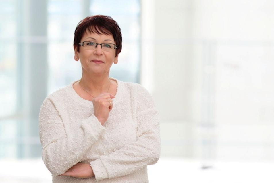 AfD-Stadträtin Monika Marschner stand am Freitag wegen Beleidigung vor dem Amtsgericht Dresden.