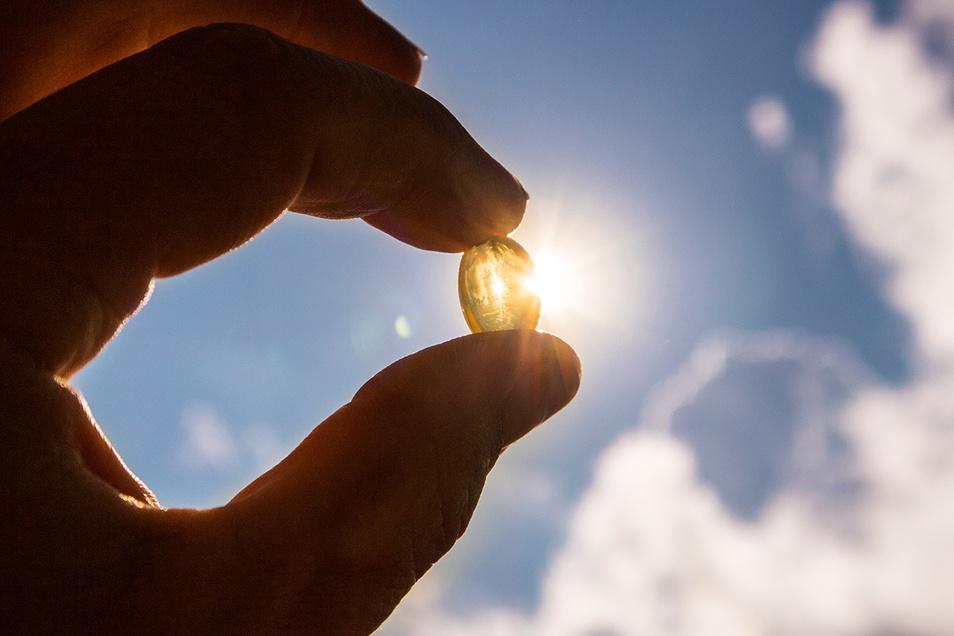Auch im Winter muss eine ausreichende Versorgung mit Vitamin D gewährleistet werden.