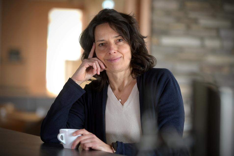 Annette Scheibe ist Geschäftsführerin der Großschönauer Trixi-Park-Gesellschaft. Seit Anfang November sind Ferienpark und Freizeitbad geschlossen und 70 Mitarbeiter in Kurzarbeit.