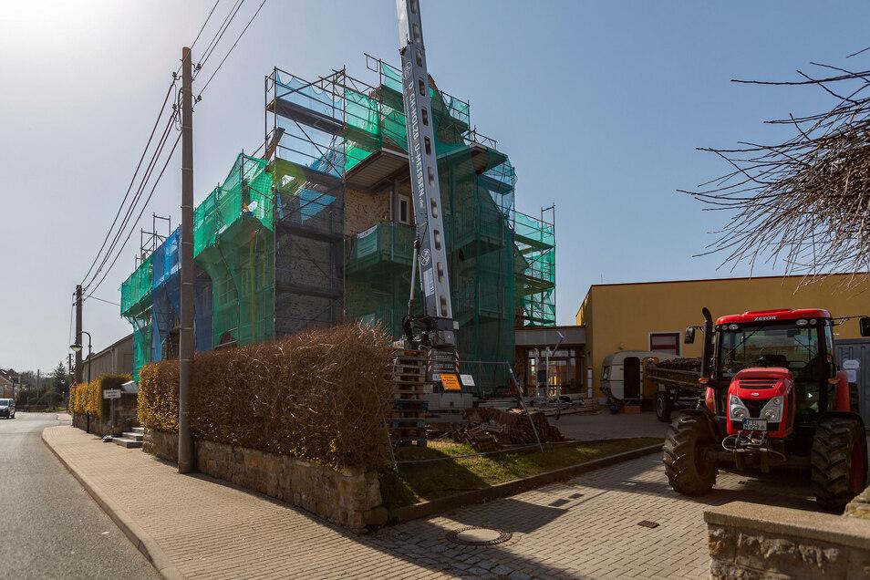 Die Kindertagesstätte auf dem Landbergweg in Wilsdruff wird saniert und erweitert.