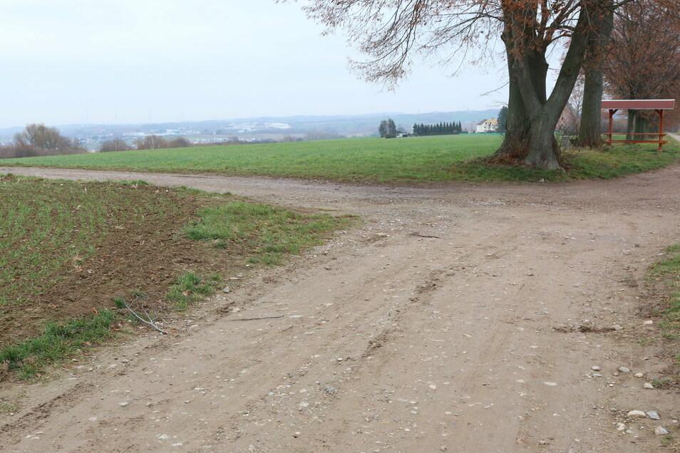Der Ausbau der Feldwege über die sogenannte Butterbüchse zum Radweg ist untersucht worden, kommt aber nicht in die engere Wahl. Er wäre 200 Meter länger.
