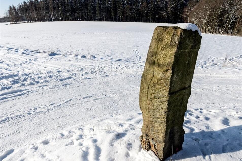 Der Tatort: ein Feldweg an der Straße Neukirch – Neudiehmen.