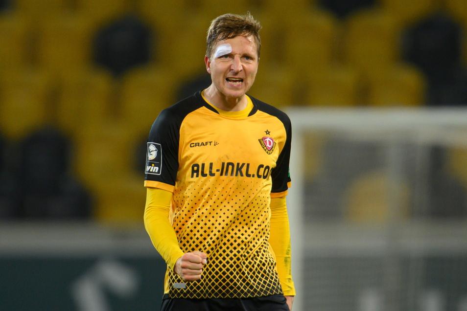 Marco Hartmann will auch nach seiner jüngsten Verletzung weder aufgeben noch aufhören.