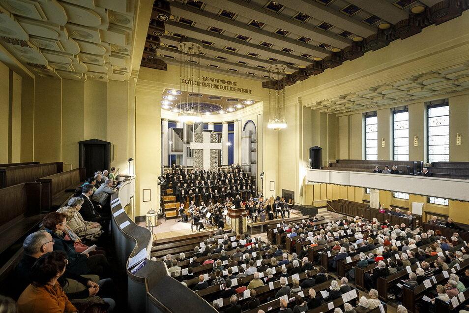Für ein solches Konzert mit dem Bachchor im Herbst müsste Reinhard Seeliger jetzt beginnen zu proben.