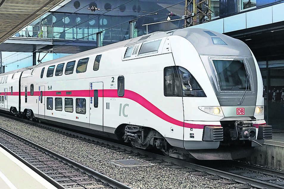 Das ist der vorläufige Designentwurf für die Kiss-Züge in der Intercity-Flotte der Deutschen Bahn.