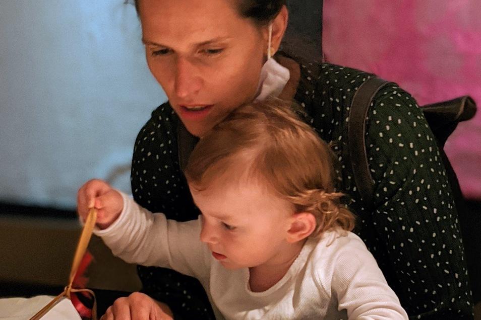 Frau Lucie und Tochter Zoe bleiben in Zittau.