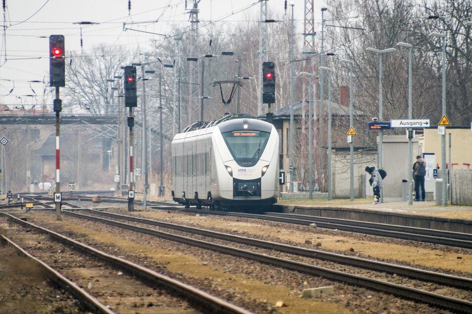 Die Mitteldeutsche Regiobahn fährt ab Montag wieder zwischen Dresden und Ottendorf-Okrilla.