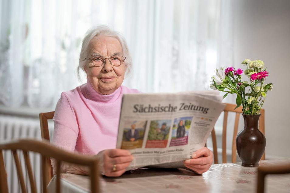 Die SZ wurde in Elisabeth Estreichers Familie schon immer gelesen - und das soll sich auch nicht mehr ändern.