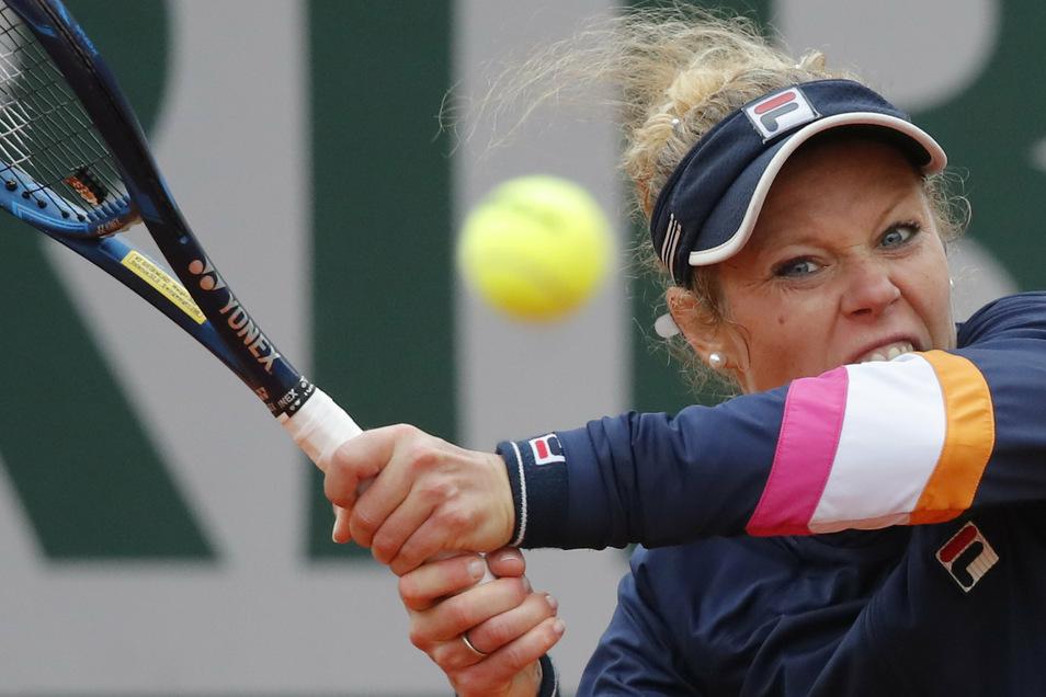 Laura Siegemund steht erstmals in ihrer Karriere im Viertelfinale eines Grand-Slam-Turniers.