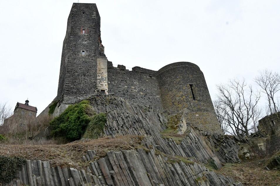 Die Burg Stolpen ist auf Basalt gebaut - oder doch nicht?