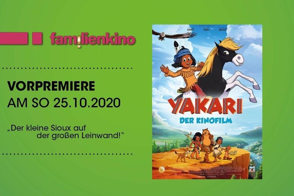 Yakari-Fans aufgepasst! Nach der Serie kommt das große Abenteuer auf die Kinoleinwand.