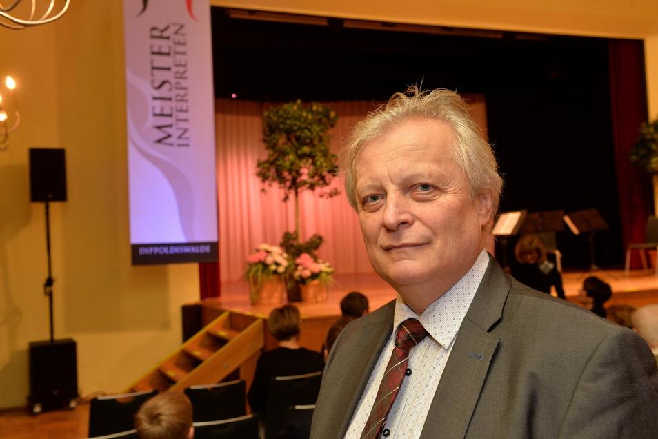 Helmut Branny, der künstlerische Leiter der Meisterinterpreten-Reihe in Dippoldiswalde hat für den Herbst zwei Konzerte organisiert, mit denen die Reihe nach der Coronapause wieder aufgenommen wird.