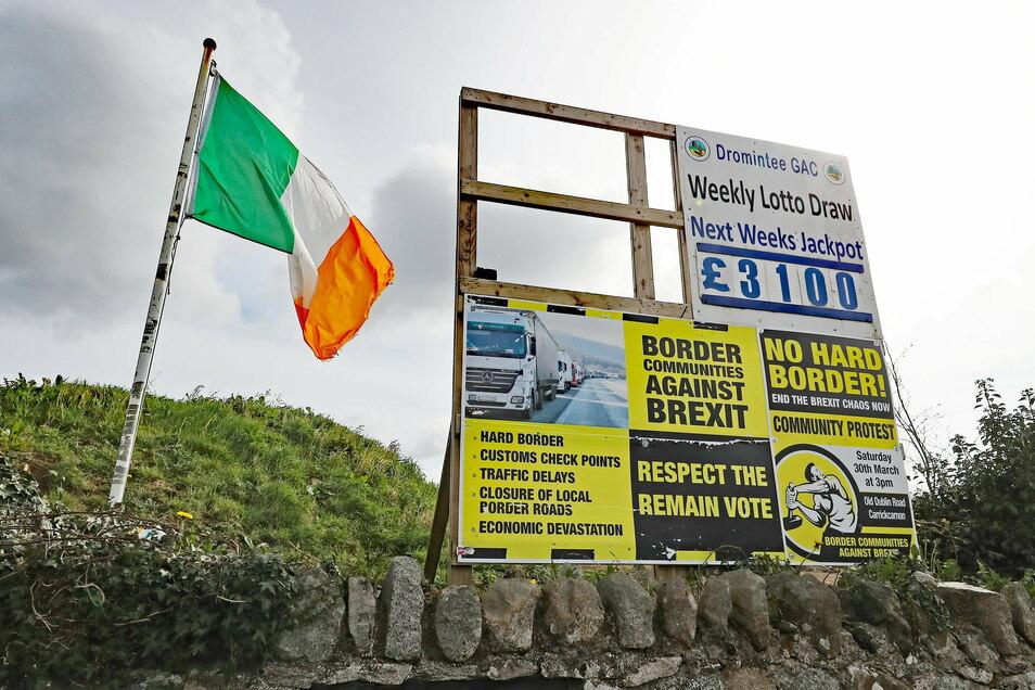 Nach dem Brexit gelten für das zum Vereinigten Königreich gehörende Nordirland spezielle Regeln, die im sogenannten Nordirland-Protokoll festgehalten sind.