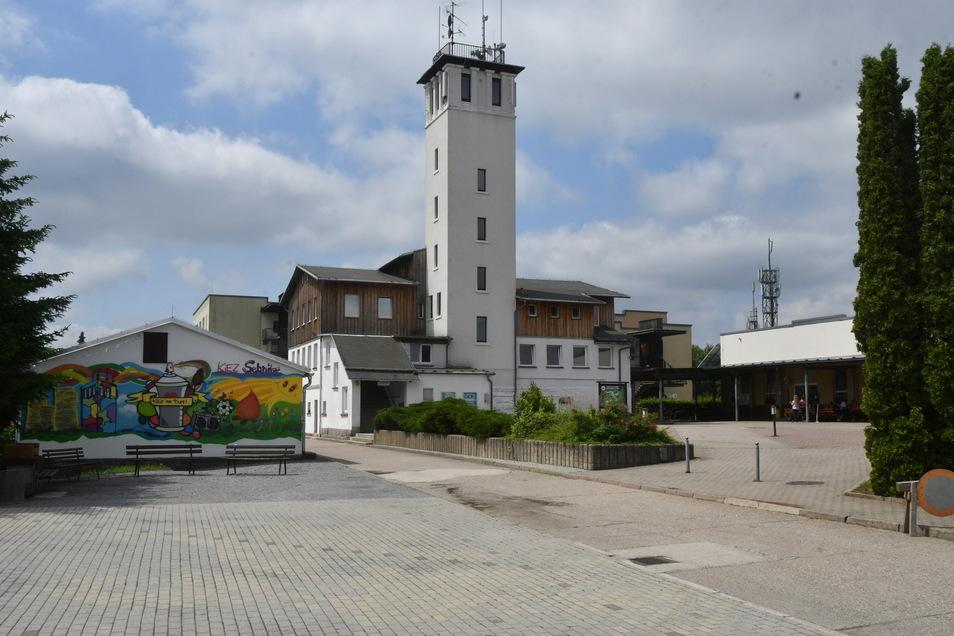 Wenn die Ferienkinder ausbleiben: Im Kiez in Sebnitz öffnet ein Corona-Testzentrum.