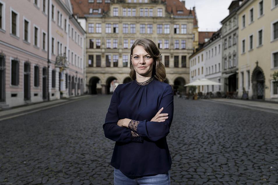 Katja Knauthe, die neue Gleichstellungsbeauftragte der Stadt Görlitz seit 1. Juni.
