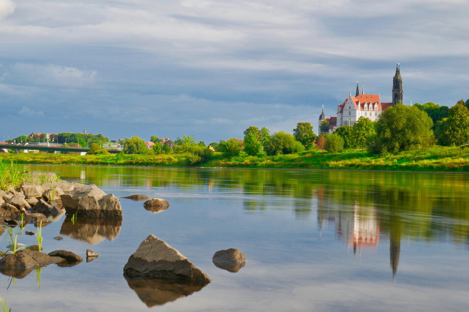 Meißen: Ein besonderer Blick von der Elbe. Der Hobbyfotograf Frank Silze beteiligt sich am SZ-Fotowettbewerb.