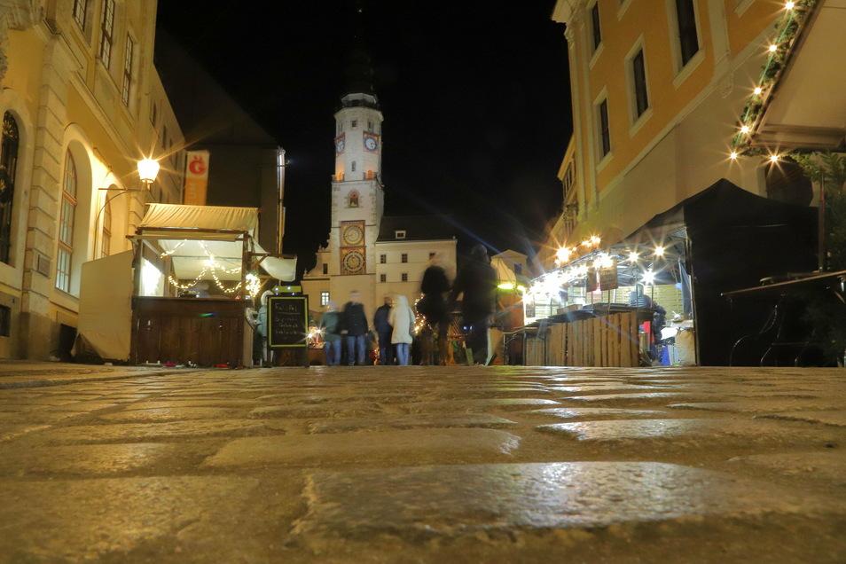 Christkindelmarkt-Zeit voriges Jahr. Wie dieses Jahr Görlitz zur Weihnachtszeit aussehen wird?
