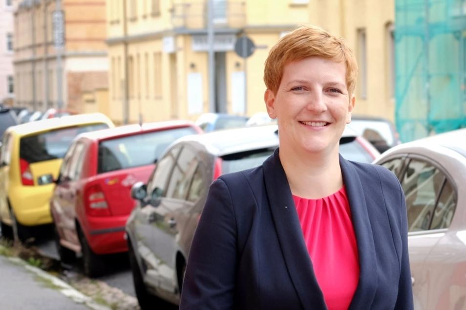 """""""Sachsen hat stark gegen den Bundestrend gewählt, die Probleme sind hier vor Ort, da kann ich nicht hingehen und auf die Bundespolitik zeigen"""": Susann Rüthrich."""