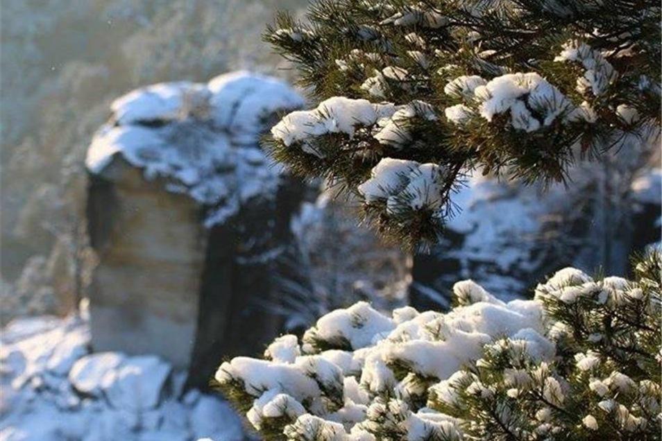 Lohmen. Roger Lehmann war im Sandstein unterwegs. Hier ein Ausblick an der Bastei.