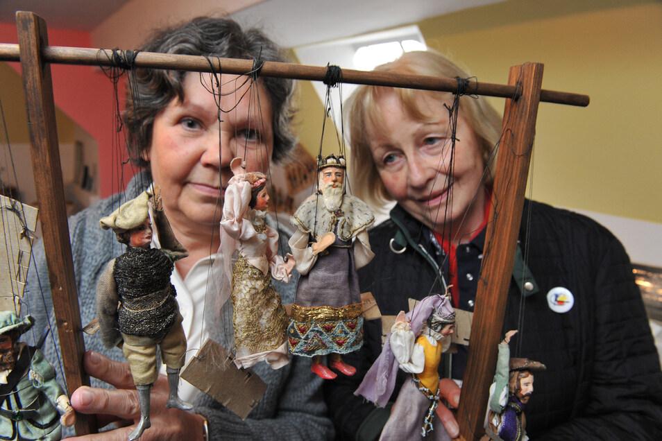 Im Technikmuseum in Leisnig gibt es einen Extra-Raum, der der Leisniger Puppenspielerfamilie Kotte gewidmet ist. Annemarie Reißmann und Gudrun Otto vom Kulturbund haben bislang manches Mal am 5. Juni, dem Geburtstag Heinz Kottes, die Ausstellung geöffnet.