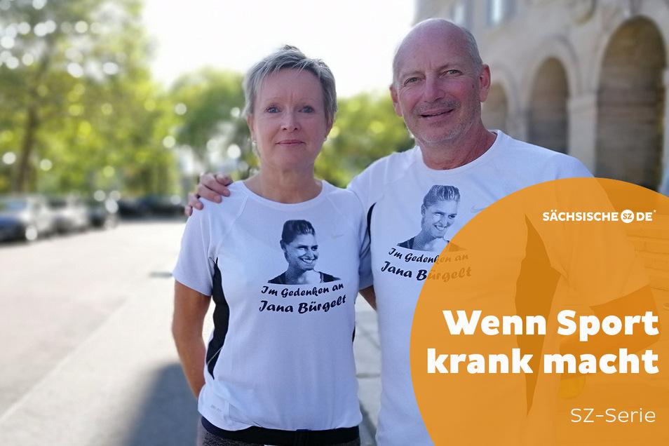 Annette und Frank Bürgelt wollen gemeinsam im kleinen Rahmen über die heimtückische Krankheit Depression aufklären.