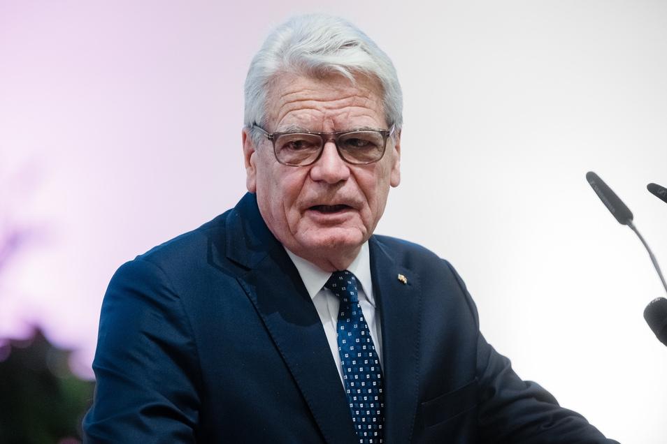 Altbundespräsident Joachim Gauck hat eine wichtige Debatte angestoßen.